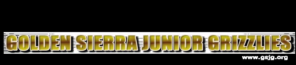 Golden Sierra Junior Grizzlies